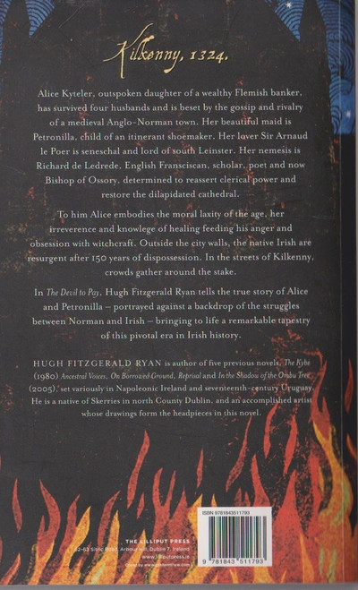 Hugh Fitzgearld Ryan / The Devil to Pay (Signed by the Author)