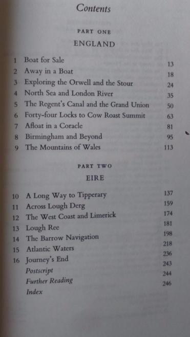 Malet, Hugh Voyage in a Bowler Hat (Paperback, 1985) Canal Transport Ireland