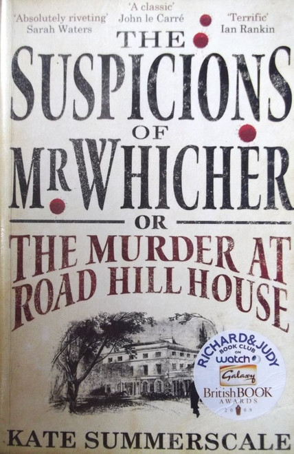 Summerscale, Kate / The Suspicions Of Mr Whicher Or The Murder At Hill House
