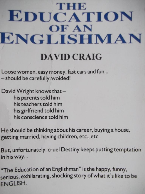 Craig, David / The Education Of An Englishman