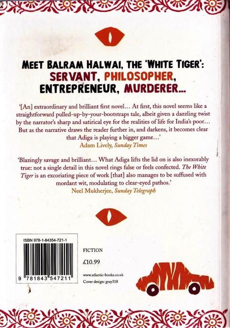 Adiga, Aravind / The White Tiger - Booker Prize Winner 2008