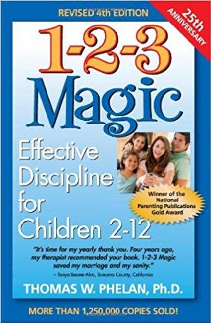 Phelan, Thomas W. / 1-2-3 Magic: Effective Discipline for Children 2-12(Large Paperback)