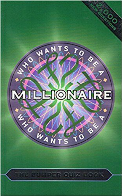 """Who Wants to be a Millionaire?"""" (Large Paperback)"""
