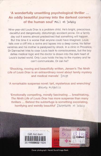 Jensen, Liz / The Ninth Life of Louis Drax