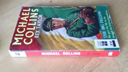 Taylor, Rex - Michael Collins : The Big Fellow - Vintage PB 1966 Biography Ireland