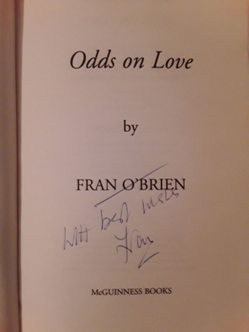 Fran O'Brien / Odds on Love (Paperback) (Signed by the Author)