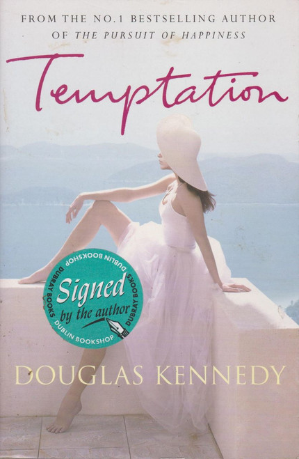 Douglas Kennedy / Temptation (Large Paperback) (Signed by the Author)