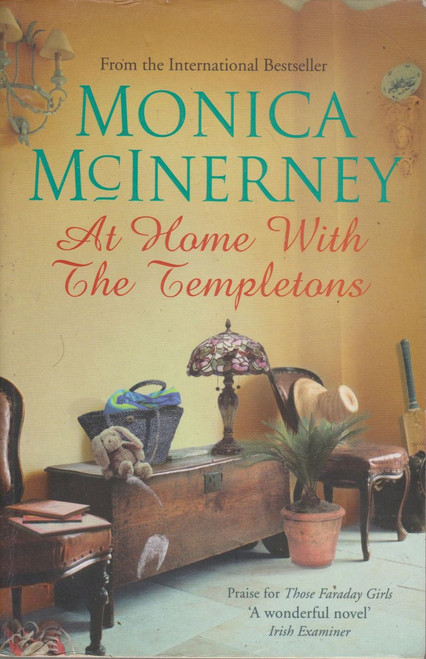 Monica McInerney / At Home With the Templetons (Large Paperback) (Signed by the Author)