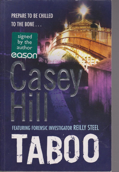Casey Hill / Taboo (Large Paperback) (Signed by the Author)