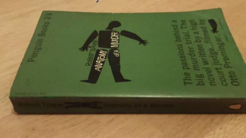 Traver, Robert - Anatomy of a Murder - PB 1st Edition  Vintage Penguin Filmed
