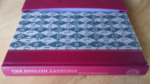 Burchfield, Robert  - The English Language HB  Folio Society