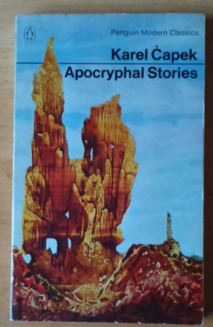 Capek, Karel - Apocryphal Stories ( Vintage Penguin Paperback, 1975) SF