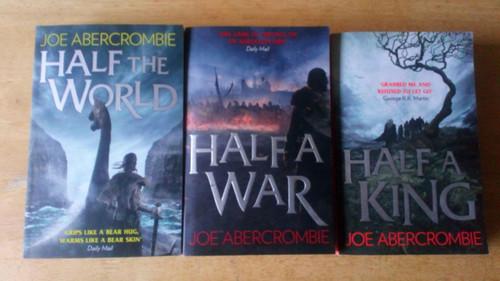 Abercrombie, Joe -  PB Shattered Sea Trilogy  3 Book Set - Half a War, Half a King, Half a World