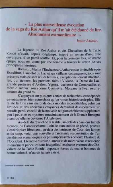 Bradley , Marion Zimmer - Les Dames Du Lac - EN FRANCAIS / French Language Hb ed
