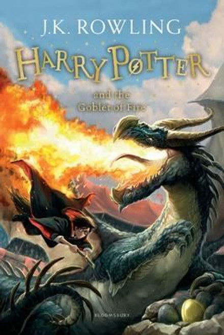Rowling J.K - Harry Potter & the Goblet of Fire ( Book 4 ) BRAND NEW