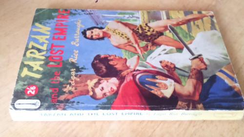 Burroughs,  Edgar Rice 2 Vintage Tarzan Books- Tarzan the Untamed HB Illustrated & The Lost Empire PB