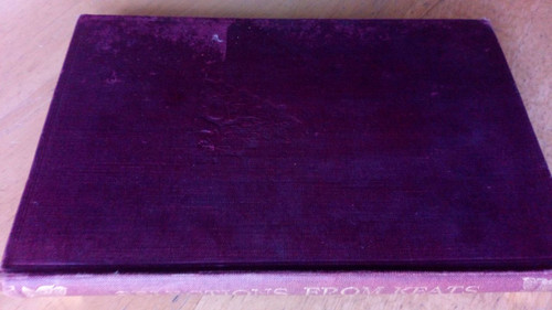 Keats,  John - Selections from Keats HB  1933 Macmillan UK HB ed