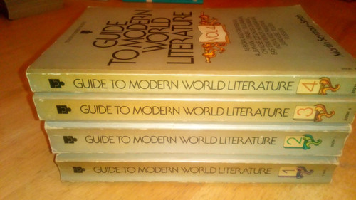 Seymour-Smith , Martin - Guide to Modern World Literature 4 vol PB SET - 1975