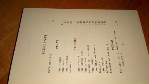Pearse, Pádraic H - Plays Stories Poems - HB in DJ 1958 - Talbot Press