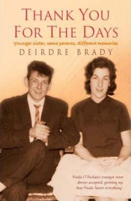Brady, Deirdre / Thank You for the Days