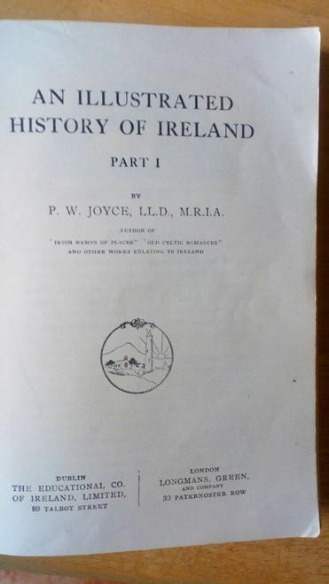 Joyce, Patrick W - Illustrated History of Ireland 1- to 1600 - PB Edco
