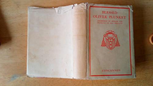 Concannon, Helena - Blessed Oliver Plunkett - 1935 HB 1st Edition Drogheda