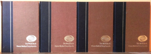 The World Book Home Medical Encyclopedia (Complete 4 Book Set) 1981