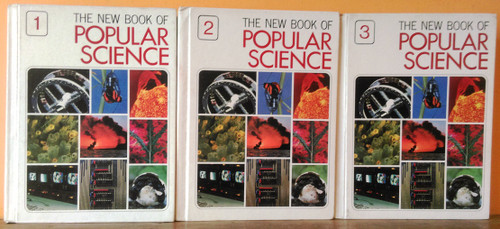 The New Book of Popular Science (Grolier) (Complete 6 Book Set) 1981