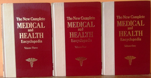 The New Complete Medical and Health Encyclopedia (3 Book Incomplete Set)