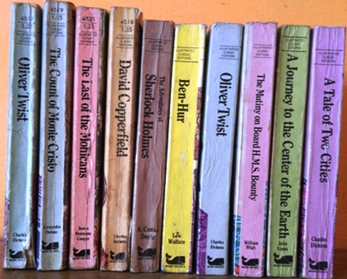 Illustrated Classic Editions 1979 (10 Book Collection)
