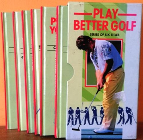 Play Better Golf (6 Book Box Set)