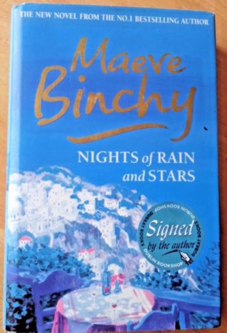 Maeve Binchy Nights of Rain and Stars (Hardback, 2004) Ireland SIGNED Hardcove