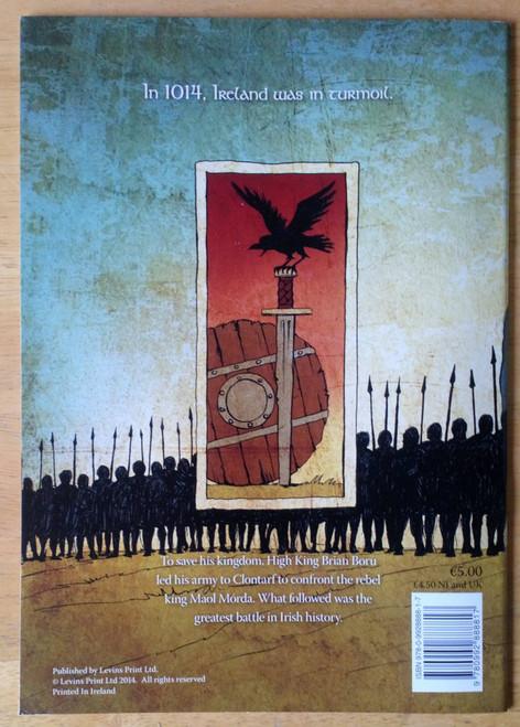 McConville, Rory & De Barra, Deirdre - Brian Boru & the Battle of Clontarf - PB - Graphic Novel 2014 BRAND NEW