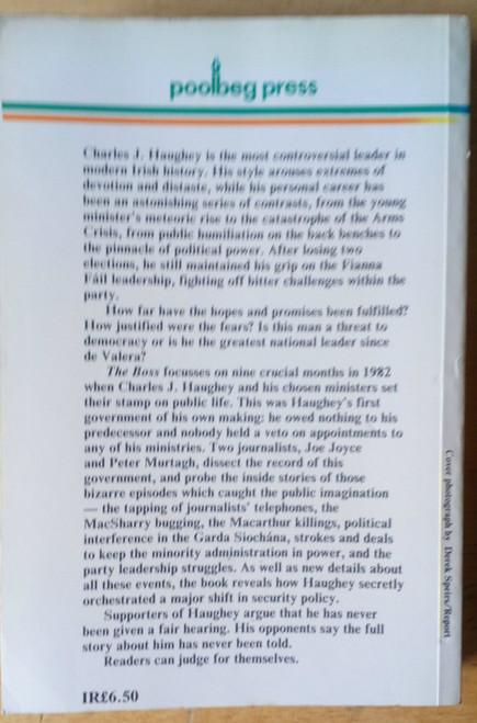 Joyce, Joe & Murtagh Peter - The Boss - Charles J Haughey in Government PB Irish Politics 1st Ed 1983