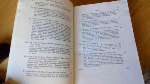 Praeger, Robert Lloyd - The Way That I Went - Ireland Geography & Topography Classic
