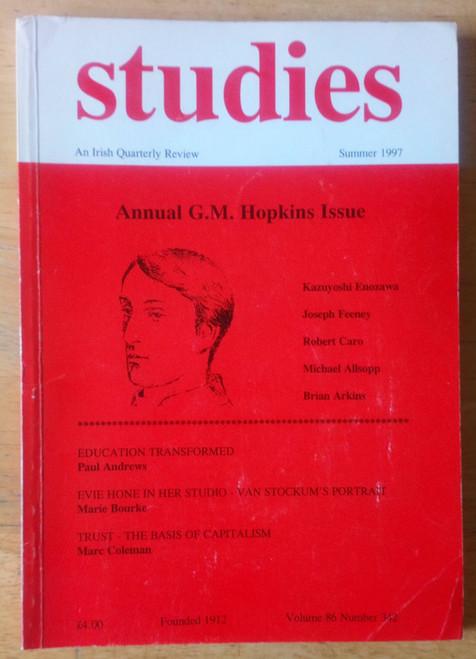 Studies - Irish Quarterly Review Summer 1997 - Gerald Manley Hopkins Issue