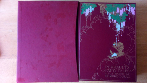 Perrault's Fairy Tales - Illustrated by Edmund Dulac - Hb Slipcased Folio Society Ed Deluxe