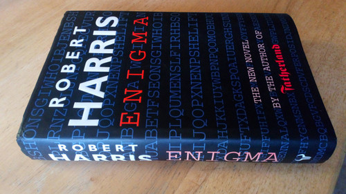 Harris, Robert - Enigma HB 1st Edition Bletchley Park WW2 Thriller