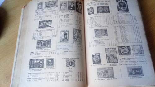 Stanley Gibbons Simplified Stamp Catalogue - Whole World -1955 - HB Illustrated