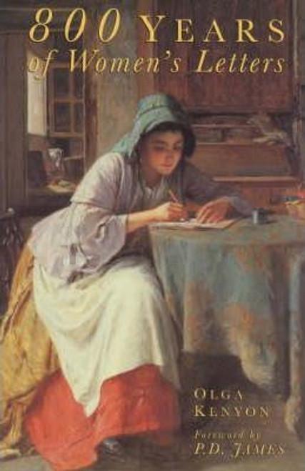 Kenyon, Olga / 800 Years of Women's Letters (Large Paperback)
