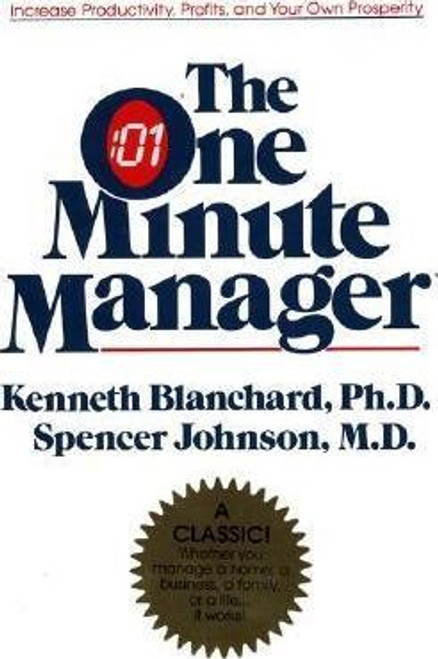Blanchard, Kenneth / The One Minute Manager (Hardback)