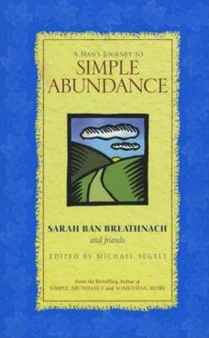 Breathnach, Sarah Ban / A Man's Journey to Simple Abundance (Medium Paperback)