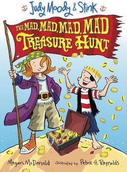 McDonald, Megan / Judy Moody and Stink: The Mad, Mad, Mad, Mad Treasure Hunt