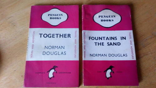 Douglas, Norman - Fountains in the Sand & Together Vintage Penguin Travel Writing 1940's