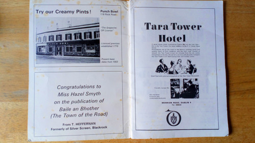 Smyth, Hazel P - The Town of the Road - The Story of  Booterstown  Vintage 1971 Local history