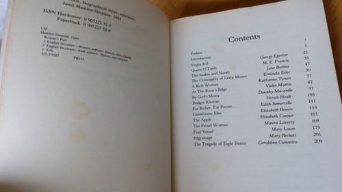 Madden-Simpson, Janet - Woman's Part : Anthology of Short Fiction by Irishwomen 1890-1960 , Arlen House