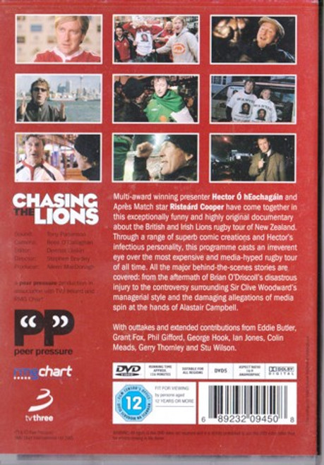 Hector O Heochagain & Risteard Cooper / Chasing the Lions (Signed DVD)