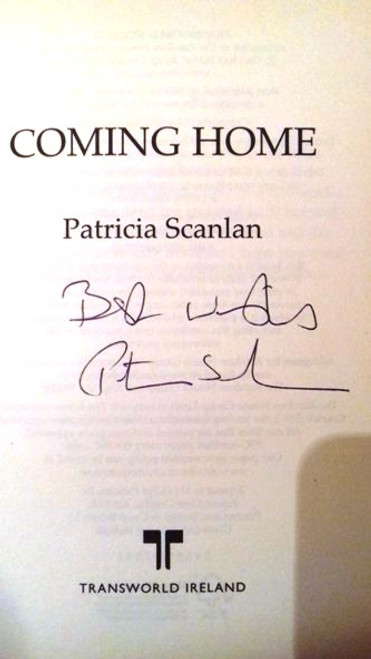 Patricia Scanlan / Coming Home (Hardback) (Signed by the Author)