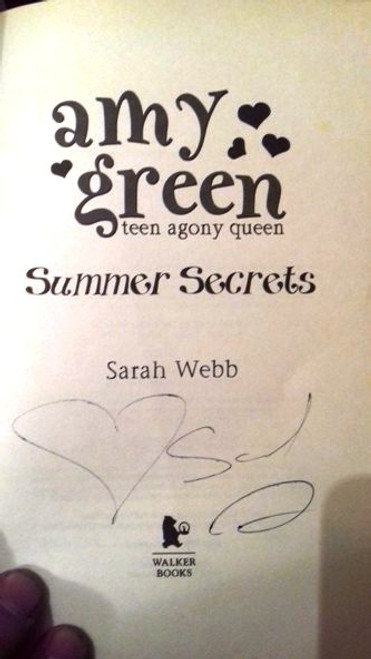 Sarah Webb / Amy Green: Summer Secrets (Paperback) (Signed by the Author)