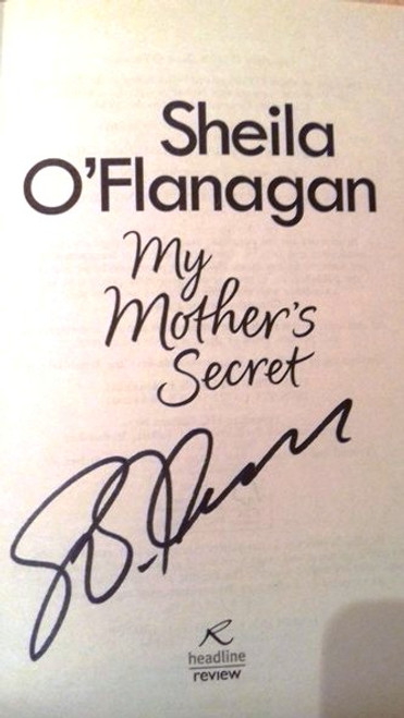 Sheila O'Flanagan / My Mother's Secret (Paperback) (Signed by the Author)